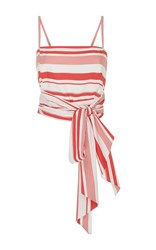 Mds Stripes Multi Stripe Everything Top Red