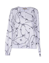 Just For You Knitwear Cardigans Women White