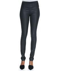 Zadig And Voltaire Stretch Waist Coated Leggings Noir