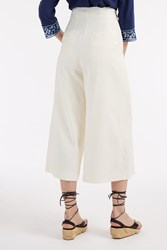 Sea Ny Women S Crepe Wide Culottes Boutique1 Ivory