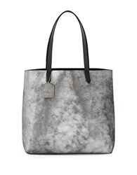 Kelsi Dagger Rider Leather Tote Pewter