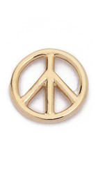 Aurelie Bidermann Fine Jewelry Peace Earring Gold