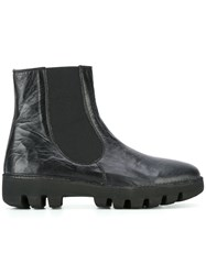 Rocco P. Chunky Sole Boots Black