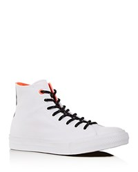 Converse Chuck Ii Shield Canvas Hi Top Sneakers White