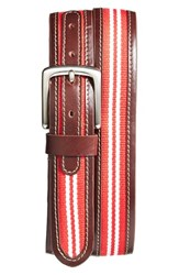 Men's Jack Mason Brand 'Tailgate Wisconsin Badgers' Belt