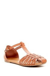 Rock And Candy Harlyn Braided Sandal Brown