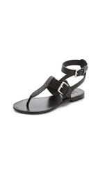Belle By Sigerson Morrison Reily Thong Sandals Black