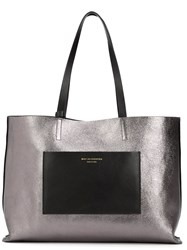 Want Les Essentiels De La Vie Reversible 'Strauss' Tote Bag Black