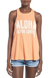 Women's Rip Curl 'Aloha Is For Lovers' Graphic Tank
