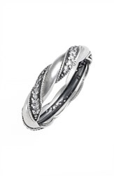Pandora Design Women's Pandora 'Ribbon Of Love' Band Ring