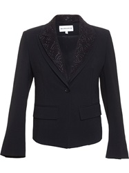 Ann Demeulemeester Multi Collared Blazer Black