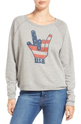 Project Social T Women's 'Hang Loose' Raglan Sleeve Sweatshirt