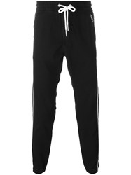 Diesel Side Stripe Track Pants Black
