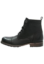 Pepe Jeans Melting Med Laceup Boots Black