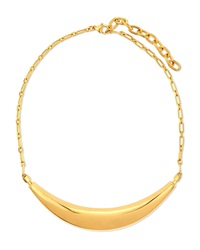 Short Conclave Sculpt Pendant Necklace Maiyet