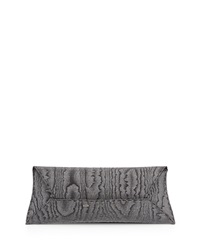 Vbh Glitz Iridescent Envelope Clutch Bag Black Silver