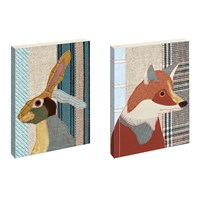 Magpie Beasties Notebooks Mr Fox And Mr Hare Set Of 2