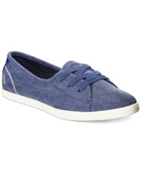 Nautica Cypher Lace Up Sneakers Women's Shoes Night Sky Blue