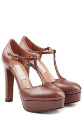 Lautre Chose Platform Leather Pumps Gr. It 39 5