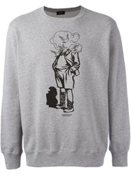 Undercover Man Crew Neck Sweatshirt Grey
