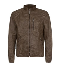 Ralph Lauren Black Label Unlined Leather Jacket