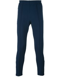 Versace Tapered Sports Trousers Blue