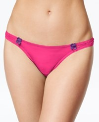 B.Tempt'd By Wacoal Most Desired Thong 976171 Cabaret