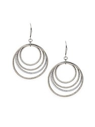 Saks Fifth Avenue Multi Ring Earrings No Color