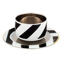 Christian Lacroix Sol Y Sombra Coffee Cup And Saucer