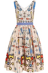 Peter Pilotto Printed Cloque Dress Multi