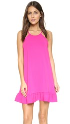 Amanda Uprichard Shalyn Dress Hot Pink