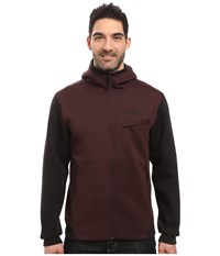 The North Face Thermal 3D Full Zip Hoodie Root Brown Black Heather Men's Sweatshirt