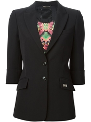 Philipp Plein Tailored Blazer Black