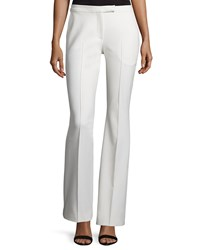 Elizabeth And James Hanlon Flare Leg Trousers Ivory
