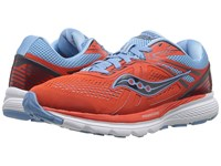 Saucony Swerve Orange Blue Women's Running Shoes