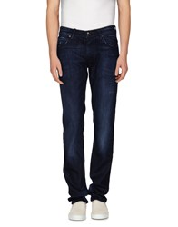 Met And Friends Denim Denim Trousers Men Blue