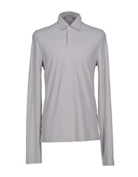 Malo Polo Shirts Light Grey