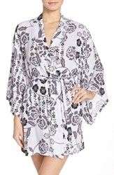 Women's Josie 'Lovely Roses' Happi Coat Robe