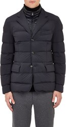 Moncler Quilted Sportcoat Blue Size 3 L