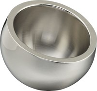 Cb2 Stainless Steel Mini Snack Bowl