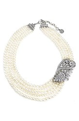 Women's Ben Amun Faux Pearl Statement Necklace