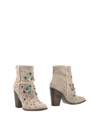 Luca Valentini Ankle Boots Grey