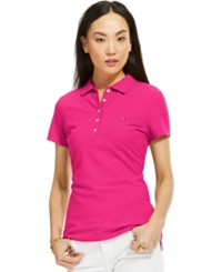 Tommy Hilfiger Solid Polo Top