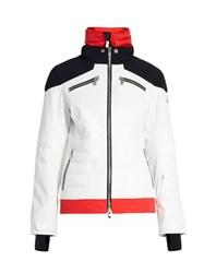 Toni Sailer Jamie Technical Ski Jacket Red White