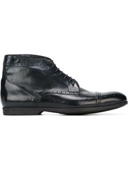 Ps Paul Smith Brogue Boots Blue