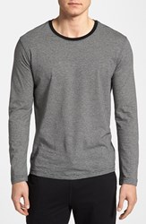 Daniel Buchler Men's Peruvian Pima Cotton Long Sleeve T Shirt
