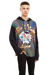 Jeremy Scott Ren And Stimpy Hoodie Black Multi
