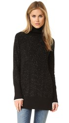 Rag And Bone Tamara Cashmere Tunic Black