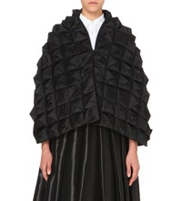Junya Watanabe Quilted Satin Top Blk