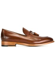 Paul Smith Tassel Detailing Loafers Brown